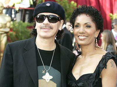 Deborah Santana Carlos Santana and Deborah King Santana