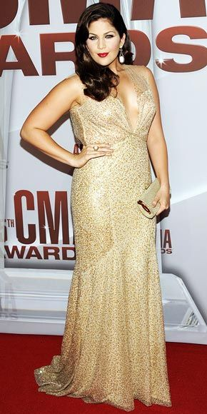 Hillary Scott At The CMA Awards 2011