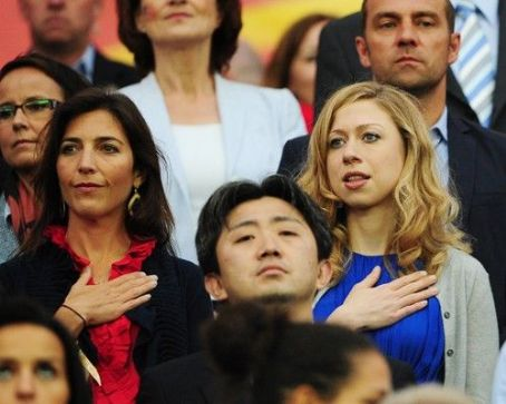 Chelsea Clinton - Japan Tops USA in 2011 Women's World Cup Final