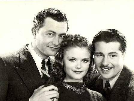 Don Ameche Simone Simon, Robert Young &