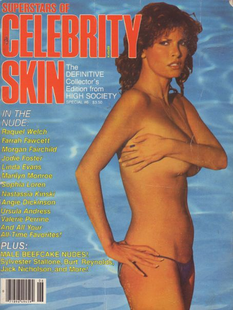 Raquel Welch - Celebrity Skin Magazine [United States] (June 1983)