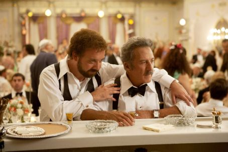 Barney's Version Left to Right: Paul Giamatti as Barney and Dustin Hoffman as Izzy Photo by Takashi Seida, Courtesy of Sony Pictures Classics.