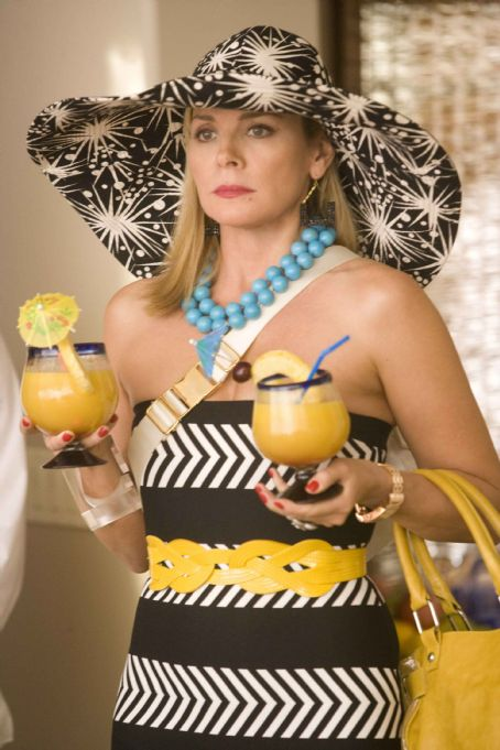 "Samantha Jones Kim Cattrall stars as """" in New Line Cinema's upcoming release of SEX AND THE CITY. Photo Credit: Craig Blankenhorn/New Line Cinema"