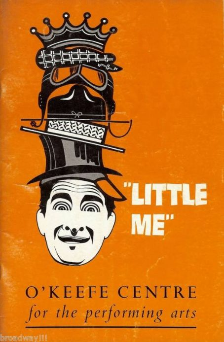 Sid Caesar 1962 BROADWAY TOUR PROGRAM FOR THE CY COLEMAN MUSICAL ''LITTLE ME'' STARRING SID CAESAR