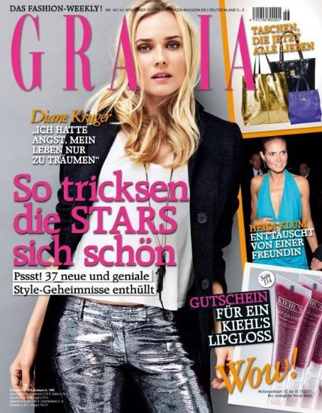 Diane Kruger - Grazia Magazine Cover [Germany] (10 November 2011)
