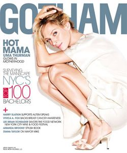 Uma Thurman - Gotham Magazine Cover [United States] (October 2009)