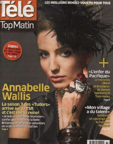 Annabelle Wallis - Tele Top Matin Magazine Cover [France] (1 December 2010)