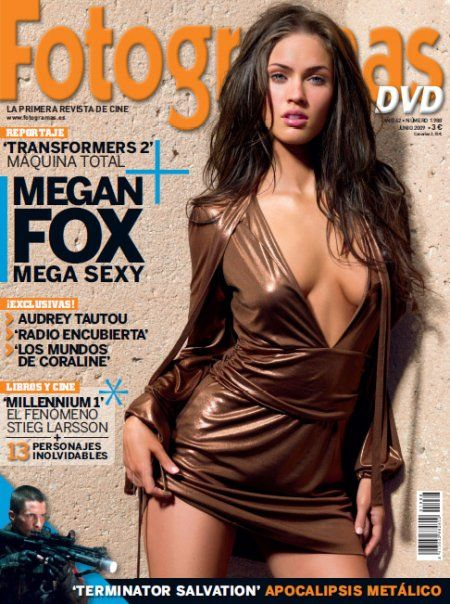 Megan Fox - Fotogramas Magazine Cover [Spain] (June 2009)