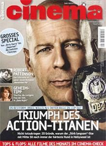 Bruce Willis - Cinema Magazine [Germany] (April 2010)