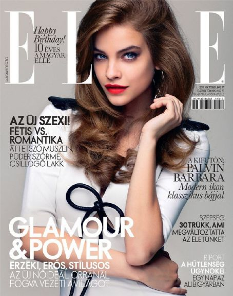 Barbara Palvin - Elle Magazine Cover [Hungary] (October 2011)