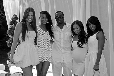 Malika P. Diddy and Cassie