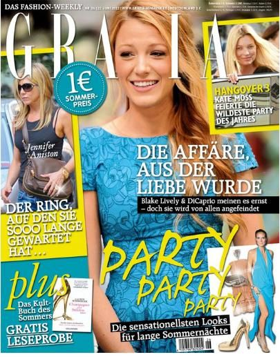Blake Lively - Grazia Magazine Cover [Germany] (22 June 2011)