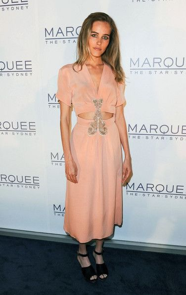 Isabel Lucas Opening Party of Marquee night club at- The Star in Pyrmont