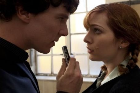 Katherine Parkinson Sherlock - The Reichenbach Fall (2012)
