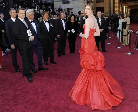 Anne Hathaway - 83 Annual Academy Awards - Arrivals, Hollywood, February 27, 2011