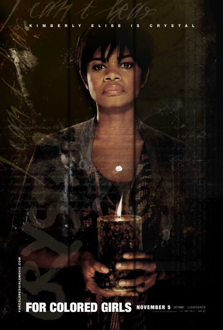 Kimberly Elise - For Colored Girls Teaser Art