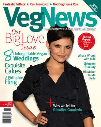 Ginnifer Goodwin - Veg News Magazine Cover [United States] (May 2010)