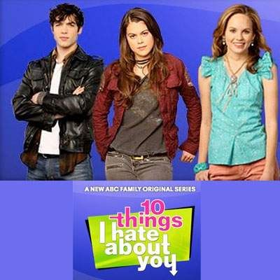 Lindsey Shaw and Ethan Peck 10 Things Ihate About You Promo