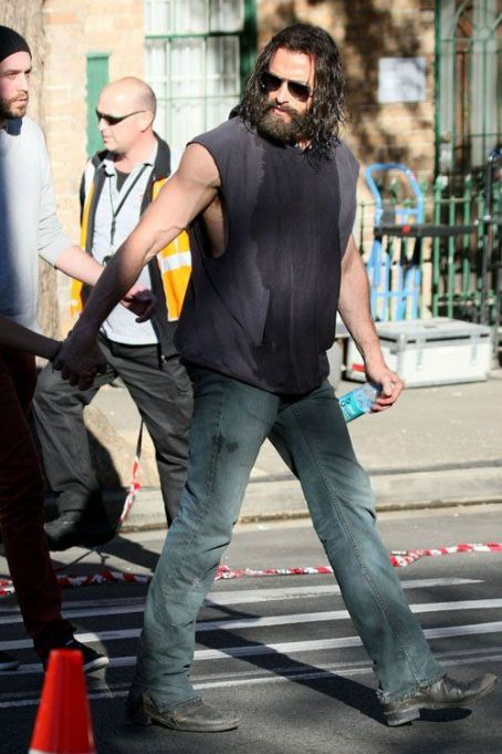 Hugh Jackman on the set of 'The Wolverine' (August 7)