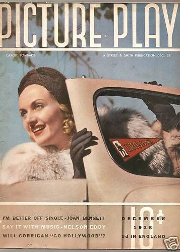 Carole Lombard - Picture Play Magazine [United States] (December 1938)