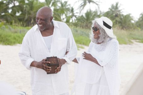 Cicely Tyson Porter (Louis Gossett, Jr.) and Ola () in TYLER PERRY'S WHY DID I GET MARRIED TOO?. Photo credit: Quantrell Colbert