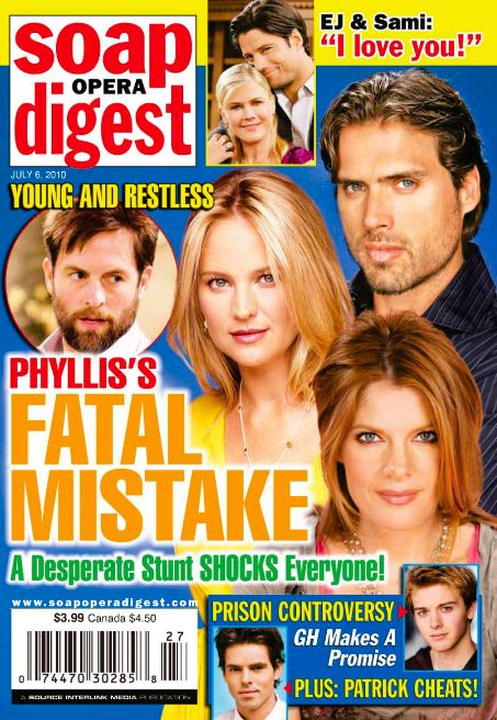 Alison Sweeney - Soap Opera Digest Magazine [United States] (6 July 2010)