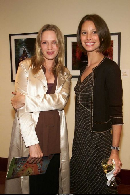 Uma Thurman, Christy Turlington
