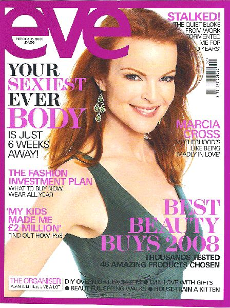 Marcia Cross - Eve Magazine [United States] (December 2000)
