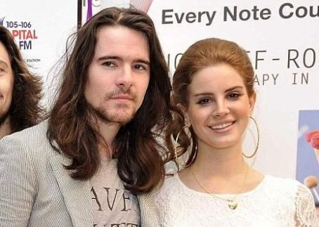 Lana Del Rey and Barrie James