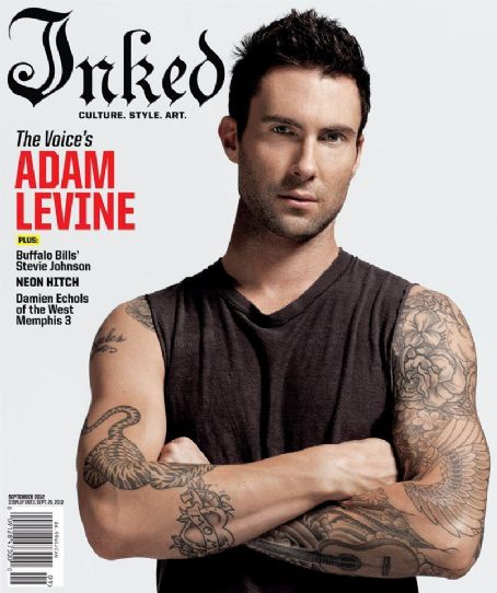 Adam Levine - Inked Magazine Cover [United States] (September 2012)