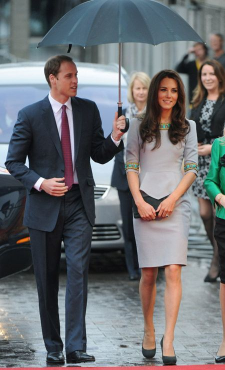 Prince Windsor and Kate Middleton - Kate Middleton & Prince William at 'African Cats' film premiere