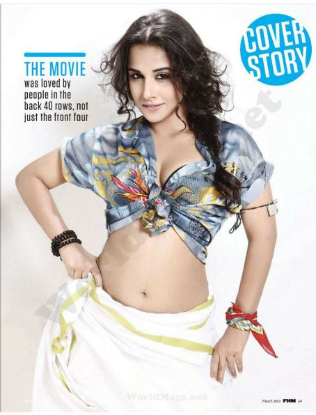Vidya Balan FHM India March 2012
