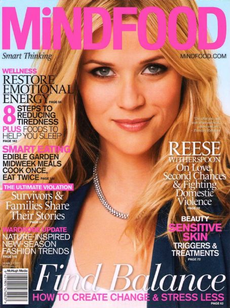 Reese Witherspoon - MindFood Magazine Cover [Australia] (March 2011)