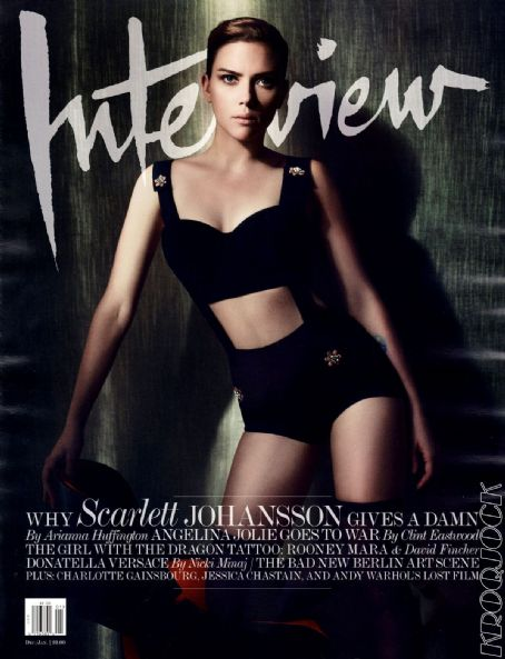 Scarlett Johansson - Interview Magazine Cover [United States] (January 2012)