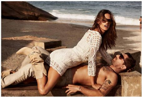Alessandra Ambrosio Hugo Boss Orange Spring Summer 2012