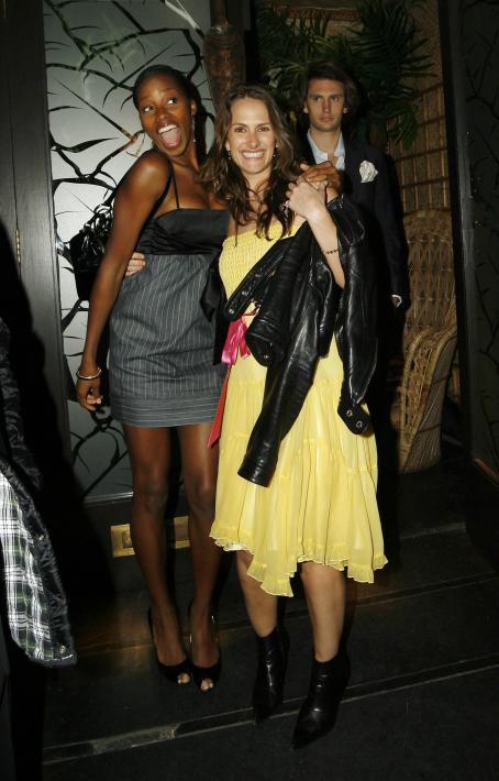 Jamelia On A Night At The Mahiki Nightclub 2007-09-17