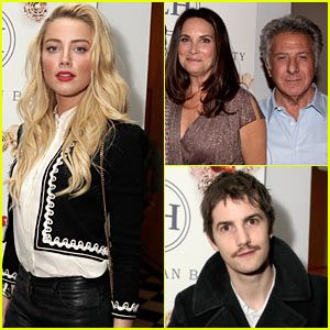 Amber Heard & Jim Sturgess: Lisa Hoffman Fragrance Jewelry Support!