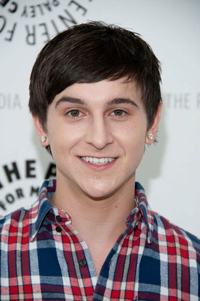 Mitchel Musso - The cast of Phineas and Ferb stopped by The Paley Center for Media today, August 13, in Beverly Hills