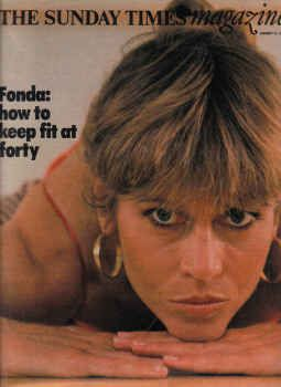 Jane Fonda - The Sunday Times Magazine [United Kingdom] (27 January 1980)