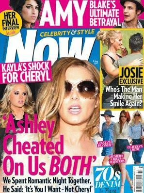 Cheryl Cole - Now Magazine Cover [United Kingdom] (8 August 2011)