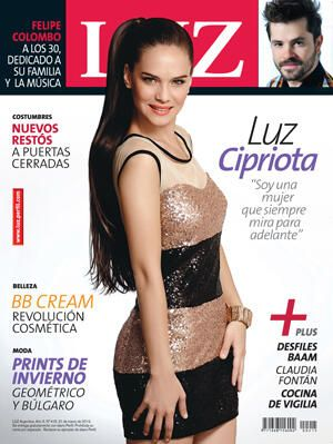 Luz Cipriota - Luz Magazine Cover [Argentina] (24 March 2013)