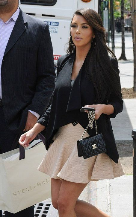 Kim Kardashian's Big Apple Humpday Hotness