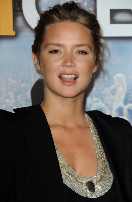 "Virginie Efira - ""Le Concert"" Premiere In Paris, France, October 23, 2010"