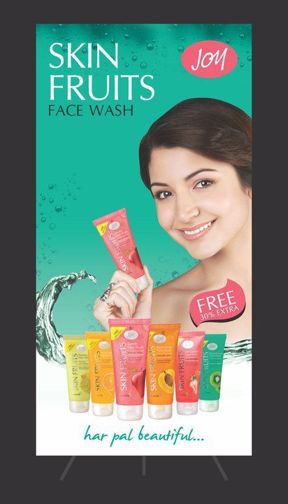 Anushka Sharma Advertising shoots for Joy Skin Fruits Face Wash