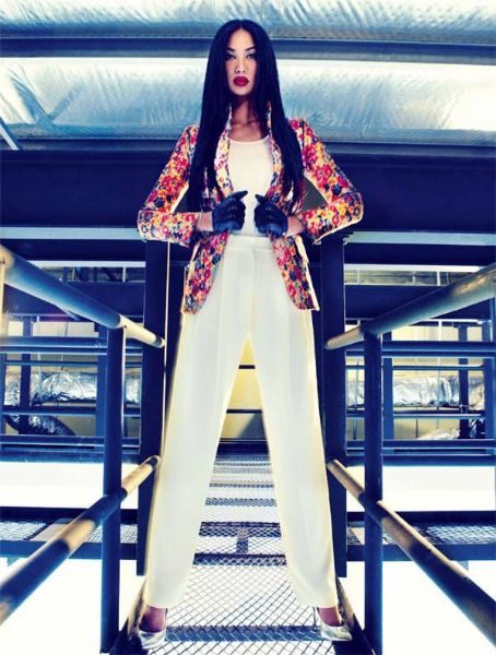 Kimora Lee Simmons Harper's Bazaar Singapore January 2012