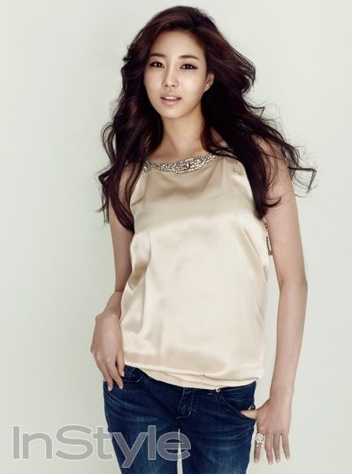 Sa-rang Kim Actress Kim Sa rang  InStyle Magazine June Issue 12