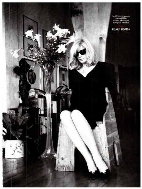 Monica Vitti Vanity Fair Italy November 2011