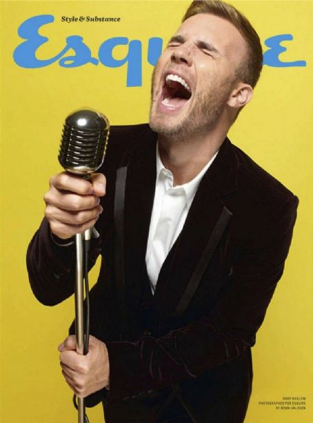 Gary Barlow Esquire UK January 2012