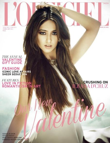 Ileana D'Cruz Ileana D'Cruz L'Officiel India February 2013