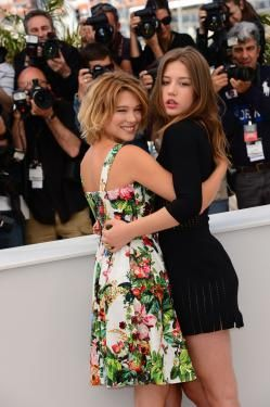 Adèle Exarchopoulos  and Lea Seydoux